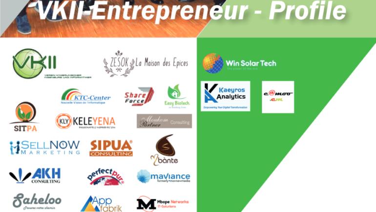 Profiles des Entrepreneurs VKII